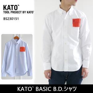 KATO カトー KATO` BASIC B.D.シャツ BS230151 ユニセックス 【服】 シャツ|snb-shop