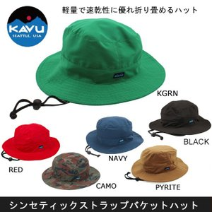 KAVU/カブー ハット KAVU カブー シンセティックストラップバケットハット【帽子】 snb-shop