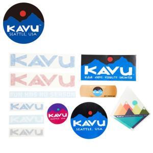 KAVU/カブー ステッカー Sticker ステッカー 19810757 【雑貨】【メール便・代引不可】 snb-shop