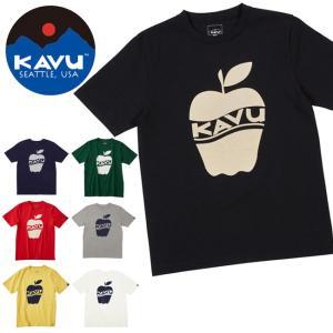 カブー / KAVU カブー メンズ アップルT 19820233 【半袖/Tシャツ/カラー/果物】【メール便・代引不可】 snb-shop