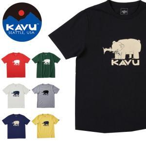 カブー / KAVU カブー メンズ ハイベアT 19820421 【半袖/Tシャツ/カラー/熊/動...