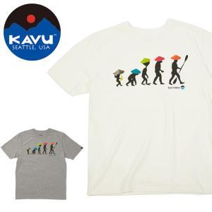 カブー / KAVU カブー メンズ バックトゥザネイチャーティー 19820426 【半袖/Tシャツ】【メール便・代引不可】|snb-shop