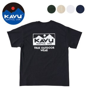 KAVU カブー メンズ トゥルーロゴTシャツ 19821057 【Tシャツ/半袖/メンズ/アウトドア】【メール便・代引不可】|snb-shop
