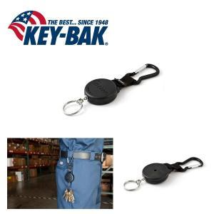 KEY-BAK/キーバック キーバックカラビナ 0008-003 チェーン 60cm 【メール便・代引不可】|snb-shop