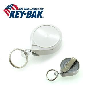 KEY-BAK/キーバック ミニバック 0053-005 WH ホワイト/ナイロン 90cm 【メール便・代引不可】|snb-shop