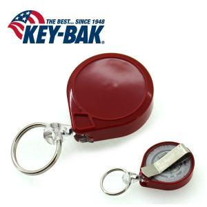 KEY-BAK/キーバック ミニバック 0081-005 レッド/ナイロン 90cm 【メール便・代引不可】|snb-shop