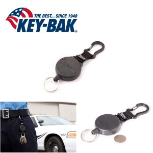 KEY-BAK/キーバック キーバックカラビナ 0488-803 KEVLAR 120cm 【メール便・代引不可】|snb-shop