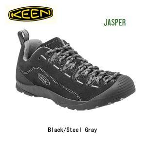 【超特価SALE!】キーン KEEN スニーカー Jasper Black/Steel Gray/ 1014823/メンズ|snb-shop