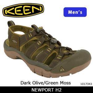 キーン KEEN  サンダル 限定カラー NEWPORT H2 ニューポート H2 Dark Olive/Green Moss 1017343 【靴】メンズ カジュアル アウトドア 海 ウォータースポーツ|snb-shop