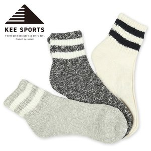 KEE SPORTS キースポーツ SOCKS 3足セット KES003 【靴下/ソックス/3足セット/スポーツ/アウトドア】 snb-shop