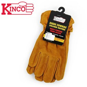 Kinco Gloves キンコグローブ Unlined Cowhide Driver Gloves...