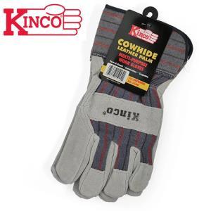 Kinco Gloves キンコグローブ Cowhide Leather Palm 1500M 【アウトドア/ガーデニング/DIY/ドライブ】|snb-shop