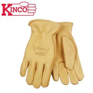 Kinco Gloves キンコグローブ Unlined Grain Deersin Leather Driver 80M 【アウトドア/ガーデニング/DIY/ドライブ】|snb-shop