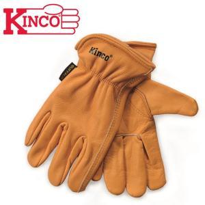 Kinco Gloves キンコグローブ Unlined Grain Bu?alo Gloves 81 【アウトドア/ガーデニング/DIY/ドライブ】|snb-shop