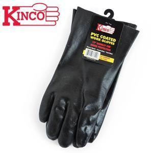 Kinco Gloves キンコグローブ Smooth Pvc Gloves 12inch 7382L 【アウトドア/ガーデニング/DIY/ドライブ】|snb-shop