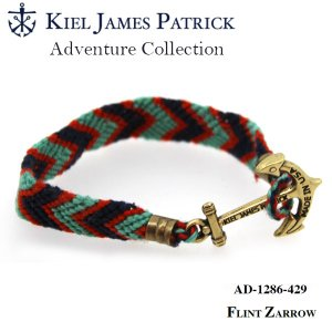 キールジェイムスパトリック KIEL JAMES PATRICK ロープ ブレスレット Adventure Collection NVY/TEAL/ORG AD-1286-429【メール便・代引不可】|snb-shop