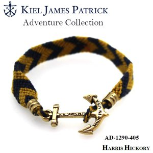 キールジェイムスパトリック KIEL JAMES PATRICK ロープ ブレスレット Adventure Collection NVY/GLD AD-1290-405【メール便・代引不可】|snb-shop