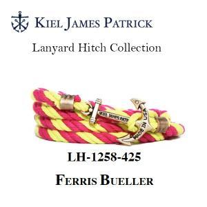 キールジェイムスパトリック KIEL JAMES PATRICK ロープ ブレスレット Lanyard Hitch Collection BUELLER LH-1258-425【メール便・代引不可】|snb-shop