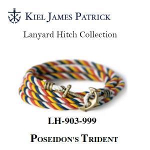 キールジェイムスパトリック KIEL JAMES PATRICK ロープ ブレスレット Lanyard Hitch Collection PS DN LH-903-999【メール便・代引不可】|snb-shop