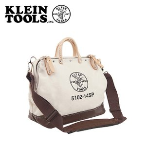 KLEIN TOOLS クラインツールズ Deluxe Canvas Tool Bag 5102-14SP Natural 【カバン】ツールバック キャンバス|snb-shop