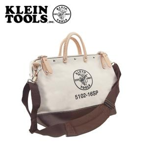 KLEIN TOOLS クラインツールズ Deluxe Canvas Tool Bag 5102-16SP Natural 【カバン】ツールバック キャンバス|snb-shop