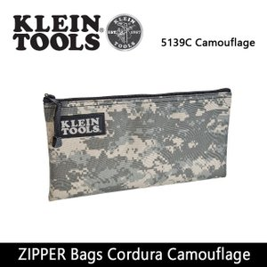 KLEIN TOOLS クラインツールズ ZIPPER Bags Cordura Camouflage 5139C Camouflage 【カバン】ポーチ【メール便・代引不可】|snb-shop