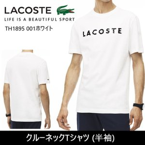 LACOSTE ラコステ クルーネックTシャツ (半袖)  TH1895 【服】 Tシャツ【メール便・代引不可】|snb-shop