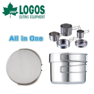 ロゴス LOGOS ツーリングクッカーセット/81280300【LG-COOK】|snb-shop