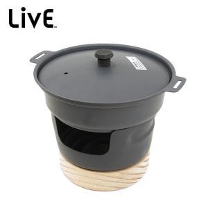 LIVE ライブ MINI NABE ぐつぐつ鉄なべミニ LCSY-08 【料理/調理/アウトドア/キャンプ】|snb-shop