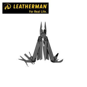 LEATHERMAN レザーマン 工具 WAVE+ Black ウェーブ プラス ブラック WAVPBK-N タクティカル & レスキュー|snb-shop