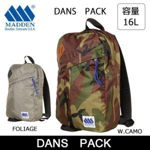 MADDEN/メデン  ディバック DANS PACK /リュック デイパック|snb-shop