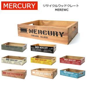 MERCURY マーキュリー リサイクルウッドクレート MEREWC 【雑貨】 ウッドボックス 木箱 アメリカン雑貨 収納 おもちゃ箱 snb-shop