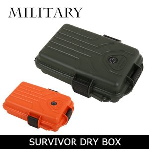 MILITARY/ミリタリー ツールボックス SURVIVOR DRY BOX S1072-11/35 【ZAKK】アウトドア 収納 キャンプ レジャー 小物入れ|snb-shop