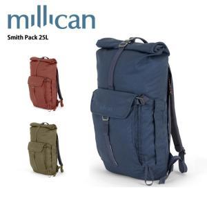 ミリカン millican Smith Pack 25L M011 【カバン】 バックパック ロールトップ|snb-shop