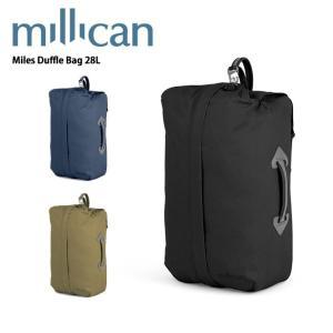 ミリカン millican Miles Duffle 28L M222 【カバン】 ダッフルバッグ バックパック 手提げ付き|snb-shop