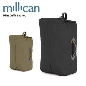 ミリカン millican Miles Duffle 40L M220 【カバン】 ダッフルバッグ バックパック 手提げ付き|snb-shop