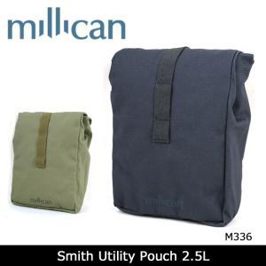 ミリカン millican ポーチ Smith Utility Pouch 2.5L M336 【カバン】 アウトドア トラベル 耐候性|snb-shop