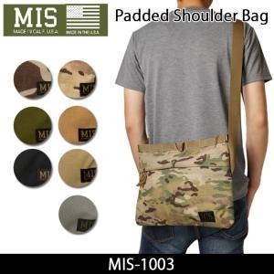 MIS エムアイエス ショルダーバック Padded Shoulder MIS-1003|snb-shop