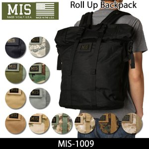 MIS エムアイエス バックパック Roll Up BackPack MIS-1009|snb-shop