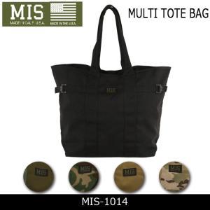 MIS エムアイエス トートバッグ MULTI TOTE BAG MIS-1014 【カバン】トート 鞄 かばん ミリタリー|snb-shop
