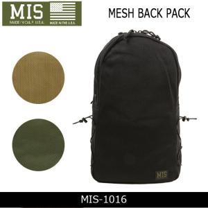 MIS エムアイエス バックパック MESH BACK PACK MIS-1016 【カバン】かばん バッグ リュック ミリタリー|snb-shop
