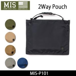 MIS エムアイエス ポーチ 2Way Pouch MIS-P101|snb-shop