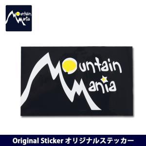Mountain Mania/マウンテンマニア Original Sticker オリジナルステッカー 【ZAKK】【雑貨】シール ステッカー インテリア ステーショナリー|snb-shop