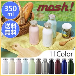 mosh! モッシュ! mosh!ボトル 350ml 水筒 マグボトル ステンレス フェス アウトドア 【BTLE】|snb-shop