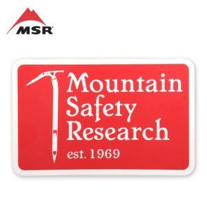 MSR エムエスアール ヘリテイジステッカー 36905 【シール/ロゴ/ステッカー】|snb-shop