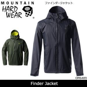 MOUNTAIN HARDWEAR / マウンテンハードウェア ファインダージャケット Finder Jacket OM6489 メンズ 防水 メッシュ裏地|snb-shop