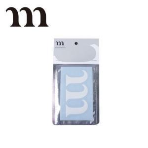 MURACO ムラコ m STICKER NEW (ホワイト) 【アウトドア/ステッカー】|snb-shop