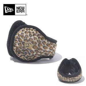 NEWERA ニューエラ Ear Muffs イヤーマフLeopard ブラウン N0021715|snb-shop