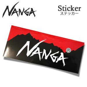 NANGA ナンガ ステッカー 四角 【アウトドア/ステッカー/シール】|snb-shop
