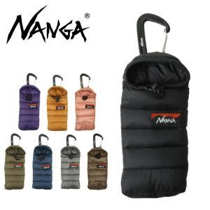 NANGA ナンガ Mini sleeping bag phone case ミニスリーピングバッグフォンケース 【携帯ケース/スマホ/寝袋/シュラフ/アウトドア】【メール便・代引不可】の画像